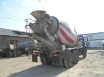 бетоновозы миксеры - услуги миксеров