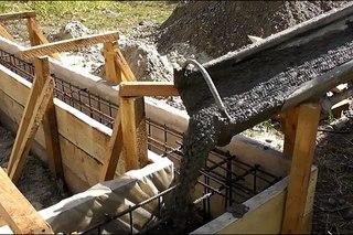 Чем уплотняют бетонную смесь фундамента карбонизированный слой бетона