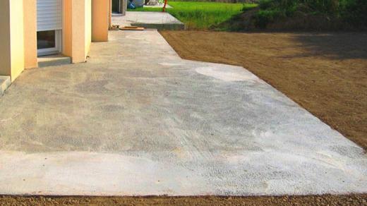 Участок бетона конструкционный керамзитобетон состав
