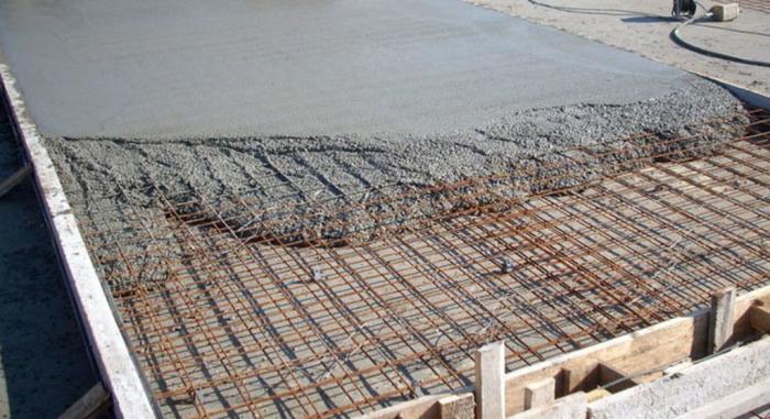 Стоимость заливки бетоном бетон применения
