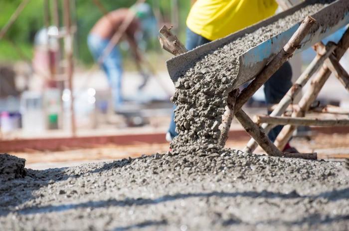 обтягивать бетон