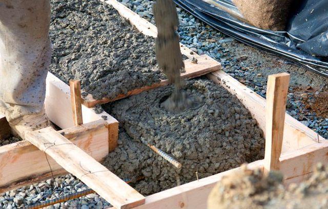 Заливка бетона фундамент методические рекомендации из тощего бетона
